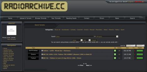 Audioarchiv rozhlasového vysílání audioarchive.cc